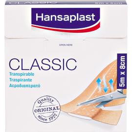 Hansaplast Pflaster CLASSIC 7577582 8cmx5m (ST=5 METER) Produktbild