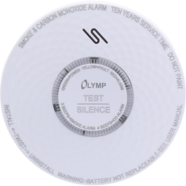 Olympia Warnmelder RC 200 6020 Rauch/Kohlenmonoxid Produktbild