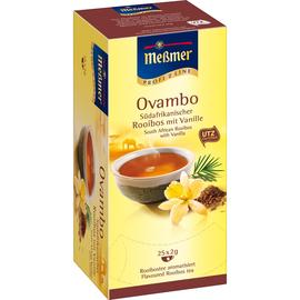 Meßmer Tee Rooibos-Vanille 105292 25 St./Pack. (PACK=25 STÜCK) Produktbild
