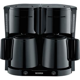 SEVERIN Kaffeemaschine DUO KA 5829 schwarz Produktbild