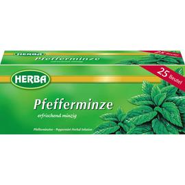 HERBA Tee Pfefferminze 7669 25 St./Pack. (PACK=25 STÜCK) Produktbild
