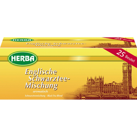 HERBA Tee Engl. Schwarztee 7675 25 St./Pack. (PACK=25 STÜCK) Produktbild