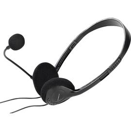 Vivanco Headset 36651 Stereo 3.5mm Stecker sw Produktbild