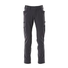 Hose, Schenkeltaschen, Stretch / Gr.  82C44, Schwarzblau Produktbild