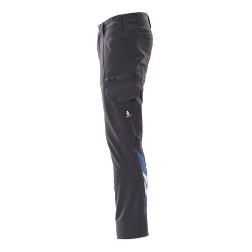 Hose, Schenkeltaschen, Stretch / Gr.  82C44, Schwarzblau Produktbild Additional View 1 L