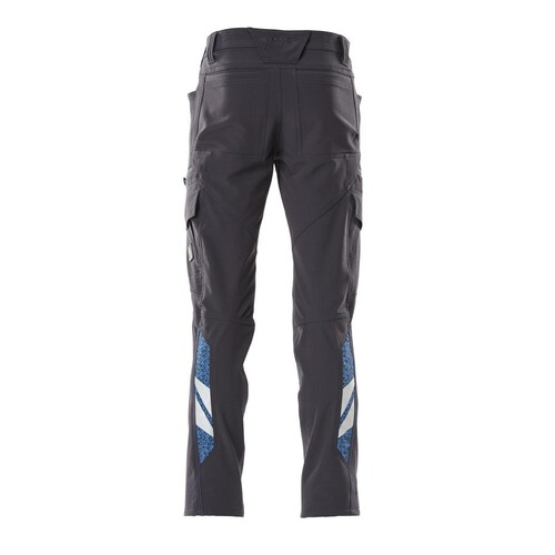 Hose, Schenkeltaschen, Stretch / Gr.  82C44, Schwarzblau Produktbild Additional View 2 L