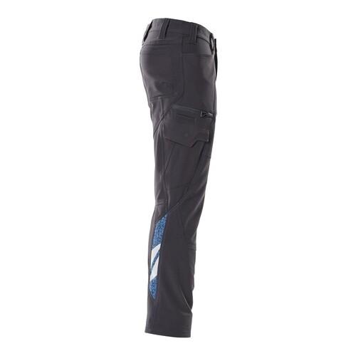 Hose, Schenkeltaschen, Stretch / Gr.  82C44, Schwarzblau Produktbild Additional View 3 L