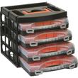 ALUTEC Sortimentskofferset 56100 4x16Fächer 322x279x297mm Produktbild