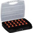 ALUTEC Sortimentskoffer 56000 23Fächer 320x265x50mm schwarz Produktbild