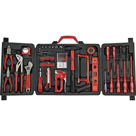 BRÜDER MANNESMANN WERKZEUGE Werkzeugset Heimwerker 29065 61tlg. Produktbild