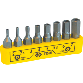 C.K Tools Bit-Set T4528 8teilig Produktbild