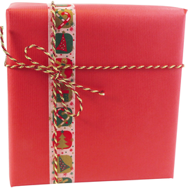 Clairefontaine Geschenkpapier 95706C 70cmx3m rot (ST=3 METER) Produktbild