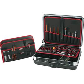 TOOLCRAFT Werkzeugkoffer 821399 leer 505x435x205mm schwarz Produktbild