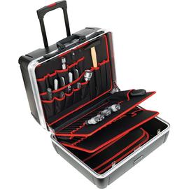 TOOLCRAFT Werkzeugkoffer 405401 leer 505x440x280mm schwarz Produktbild
