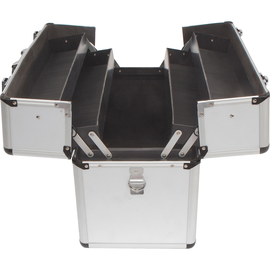 TOOLCRAFT Werkzeugkoffer 1409408 450x225x320mm Aluminium Produktbild