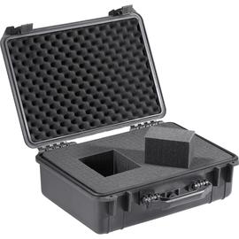 BASETech Werkzeugkoffer 708503 leer 460x360x175mm schwarz Produktbild