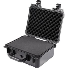 BASETech Werkzeugkoffer 1310219 leer schwarz Produktbild