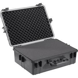 BASETech Werkzeugkoffer Universal 658799 leer 560x430x215mm schwarz Produktbild