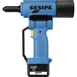 GESIPA Blindnietsetzgerät AccuBird 1434898 2,4-5mm LI-ION Akku 1,3AH Produktbild