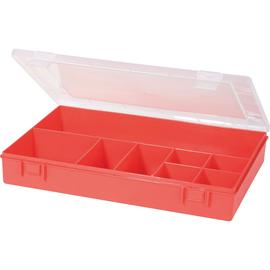 hünersdorff Sortimentskasten 611700 8Fächer 335x225x55mm rot Produktbild