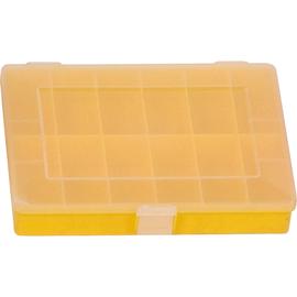 hünersdorff Sortimentskasten 608200 12Fächer 250x180x45mm gelb Produktbild