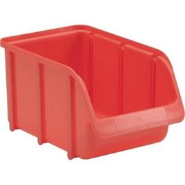 hünersdorff Lagersichtbox 673100 Größe3 240x145x125mm rot Produktbild