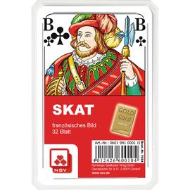 GoldCard Spielkarten Skat Classic 70.24 Französisches Bild 32Blatt (PACK=32 STÜCK) Produktbild