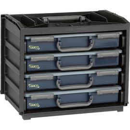 raaco Sortimentskasten Handybox 136242 376x265x310mm 4Fächer Produktbild