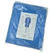 Einwegkittel blau mit Strickbund und Schleifen EN ISO 13485:2016/13795:2019 Produktbild Additional View 1 S