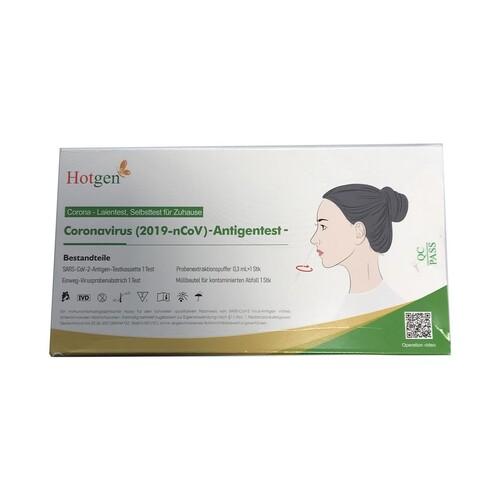Corona Laien Einzelschnelltest 1er Pack. Beijing Hotgen Biotech 5640-S-057/21 (VPE = 1 STÜCK) Produktbild