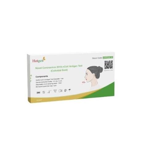 Corona Laien Einzelschnelltest 1er Pack. Beijing Hotgen Biotech 5640-S-057/21 Produktbild Front View L