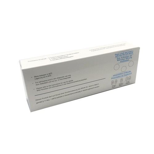 Corona Laien Einzelschnelltest Clungene Biotech 5640-S-168/21 (VPE = 5 STÜCK) Produktbild Additional View 3 L