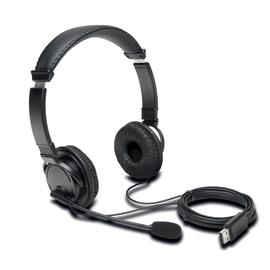Headset Hifi mit Mikrofon USB-A anschluss schwarz Kensington K97601WW Produktbild