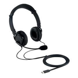 Headset Hifi mit Mikrofon USB-C Anschluss schwarz Kensington K97457WW Produktbild