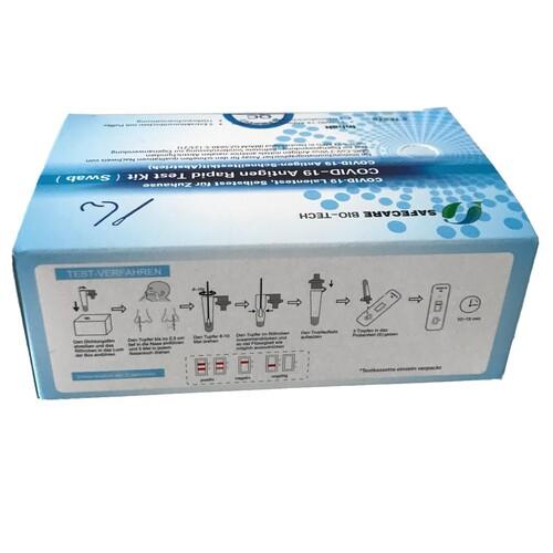 Corona Laien Einzelschnelltest Safecare Biotech 5640-S-168/123 (VPE = 5 STÜCK) Produktbild Additional View 1 L