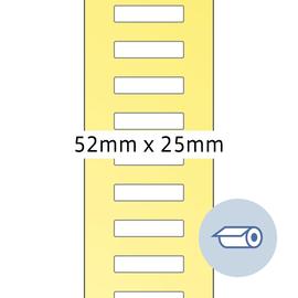 HERMA Etikett 4247 52x25mm weiß 5.000 St./Pack. (PACK=5000 STÜCK) Produktbild
