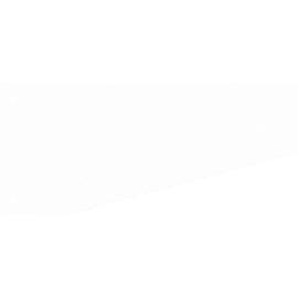 Trennstreifen Trapez 50500t 240x105/60mm weiß (PACK=100 STÜCK) Produktbild