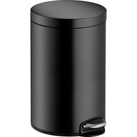 Tretabfallbehälter Design Classic 12l Metall schwarz Helit H2403595 Produktbild