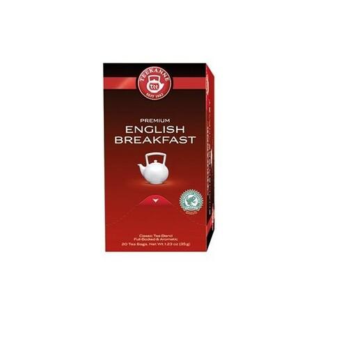Schwarzer Tee Englisch Breakfast Teekanne Nr. 6243 (PACK=20 BEUTEL) Produktbild Front View L