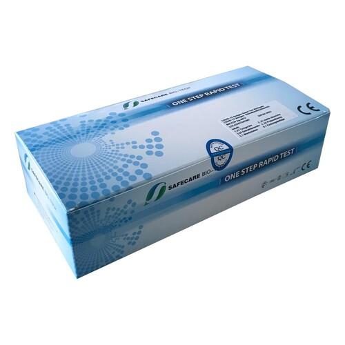 Corona Schnelltest Nasaler Abstrich Safecare Biotech 5640-S-123/21 (VPE = 25 STÜCK) Produktbild