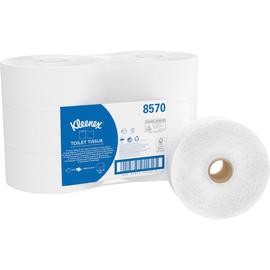 Kleenex Toilettenpapier Jumbo 8570 2-lagig ws 500Bl. 6 St./Pack. (PACK=6 STÜCK) Produktbild