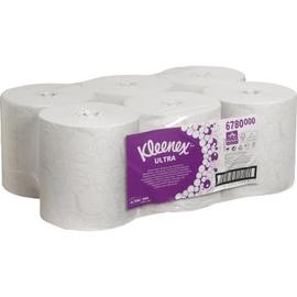 Kleenex Rollenhandtuch Ultra 6780 2lagig 150m AIRFLEX ws 6 St./Pack. (PACK=6 STÜCK) Produktbild