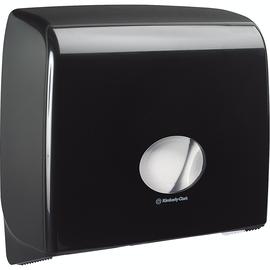 Aquarius Toilettenpapierspender 7184 Midi Jumbo Non-Stop schwarz Produktbild