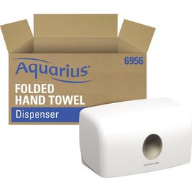Aquarius Handtuchspender 6956 15,9x28,7x14,2cm Kunststoff weiß Produktbild