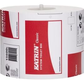 Katrin Toilettenpapier 800 156005 2-lagig 100mmx100m ws 36 Ro/Pack (PACK=36 ROLLEN) Produktbild