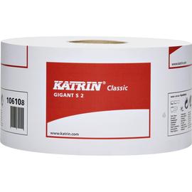 Katrin Toilettenpapier 2504 Classic Gigant S2 2lg. 150m ws 12 Rl./Pack. (PACK=12 ROLLEN) Produktbild