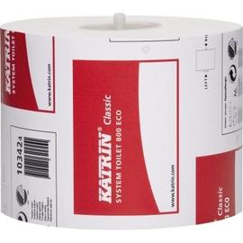 Katrin Toilettenpapier Classic System 103424 2-lagig 800 Bl. weiß Produktbild