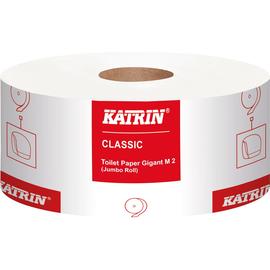 Katrin Toilettenpapier Classic Gigant M 2 106252 ws 6 Ro/Pack (PACK=6 ROLLEN) Produktbild