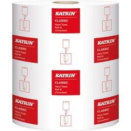 Katrin Handtuchrolle Classic M2 481911 205x380mm weiß 6 Rl./Pack. (PACK=6 ROLLEN) Produktbild