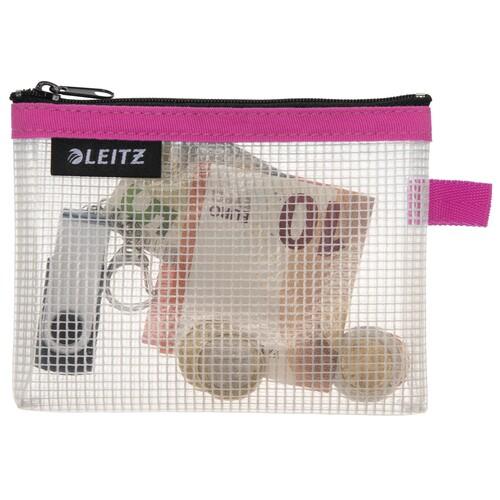 Traveller Zip-Beutel S Wow transparent/pink wasserabweisend Leitz 4024-00-23 Produktbild Additional View 1 L